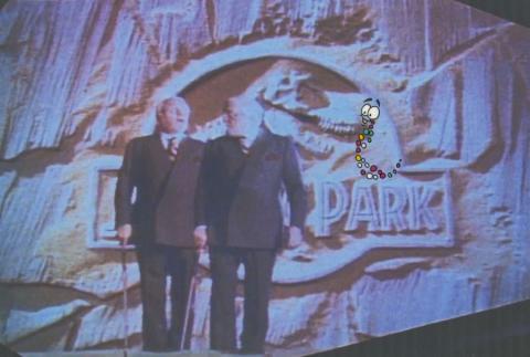 Jurassic Park Mr. DNA Production Cel & Drawing - ID: sepjurassic21018 Universal