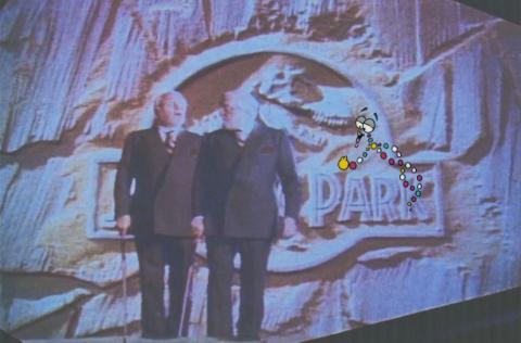 Jurassic Park Mr. DNA Production Cel & Drawing - ID: sepjurassic21019 Universal