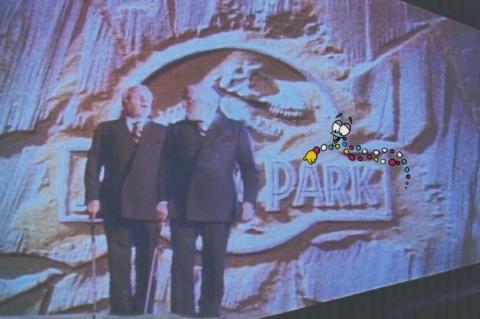 Jurassic Park Mr. DNA Production Cel & Drawing - ID: sepjurassic21021 Universal