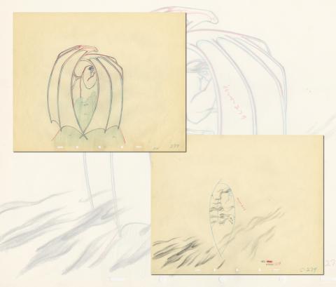Fantasia Production Drawing  - ID: septfantasia20297 Walt Disney