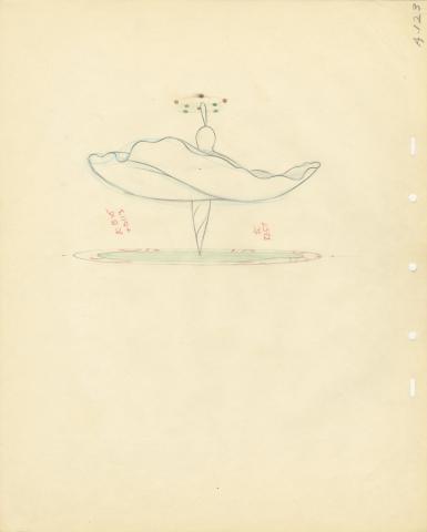Fantasia Production Drawing  - ID: septfantasia20307 Walt Disney