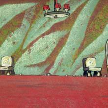 The Flintstones Production Background - ID:0109flint19 Hanna Barbera