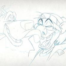 Oliver and Company Production Drawing - ID:0132oliver06 Walt Disney