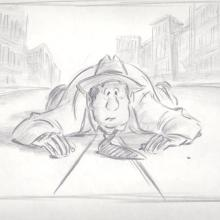 Who Framed Roger Rabbit Layout Drawing - ID:013roger19 Walt Disney