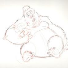 Tarzan Production Drawing - ID:0144tarz02 Walt Disney