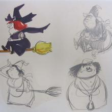 Winsome Witch Model Sheet - ID:02win01 Hanna Barbera