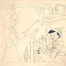 Pinocchio Merchandise Drawing - ID:430pin05 Walt Disney