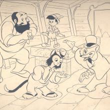Pinocchio Merchandise Drawing - ID:430pin06 Walt Disney