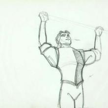 Pocahontas Production Drawing - ID:WDD303poca Walt Disney