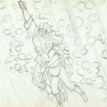 Pocahontas Production Drawing - ID:WDD303poca03 Walt Disney