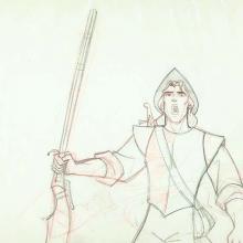 Pocahontas Production Drawing - ID:WDD303poca4 Walt Disney