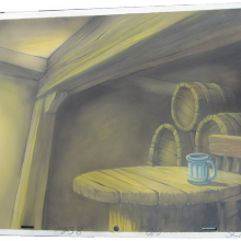 The Great Mouse Detective Preliminary Background - ID:coleman8545 Walt Disney
