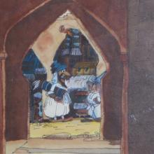 Aladdin Concept Art - ID:fdaladdin01 Walt Disney
