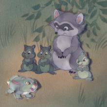 Bambi Production Cel - ID:fdbambi01 Walt Disney