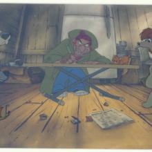 Oliver and Company Production Cel - ID:fdoliver02 Walt Disney