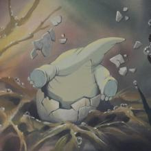 The Land Before Time Color Key Concept - ID:mar15land014 Don Bluth