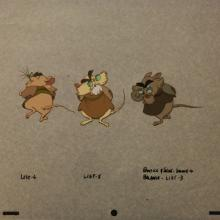 The Secret of NIMH Production Cel - ID:mar15nimh057 Don Bluth