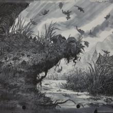 Thumbelina Concept Art - ID:mar15thumb001 Don Bluth