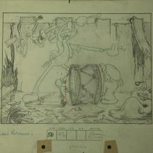 Mickey's Mellerdrammer Layout Drawing - ID:mardisney2915 Walt Disney