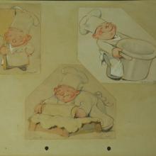 1930s Ferdinand Horvath Drawings - ID:marhorvath2625 Walt Disney