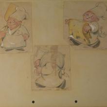 1930s Ferdinand Horvath Drawings - ID:marhorvath2626 Walt Disney
