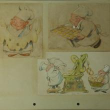 1930s Ferdinand Horvath Drawings - ID:marhorvath2627 Walt Disney