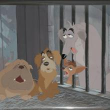 Lady and the Tramp Production Cel - ID:marladytramp2889 Walt Disney