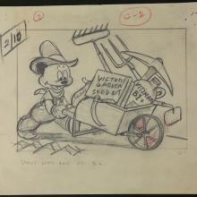 Andy Panda Storyboard Drawing - ID:marlantz2596 Walter Lantz