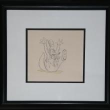 The Big Bad Wolf Production Drawing - ID:marlittlepigs2686 Walt Disney