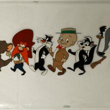 The Bugs Bunny Show Production Cel - ID:marlooney2790 Warner Bros.