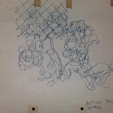 Mickey Mouse Original Layout Drawing - ID:marmickey2913 Walt Disney