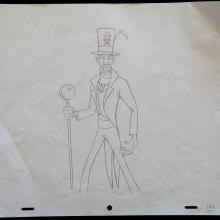 The Princess and the Frog Production Drawing - ID:marprinfrog3560 Walt Disney