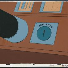 The Scooby Doo Show Production Cel Background - ID:marscooby3612 Hanna Barbera