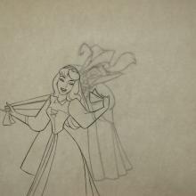 Sleeping Beauty Production Drawing - ID:marsleeping3575 Walt Disney