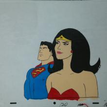 Superfriends Production Cel - ID:marsuperfriends2898 Hanna Barbera