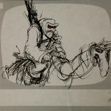 Wizards Storyboard Panel - ID:marwizards2868 Ralph Bakshi