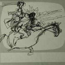Wizards Storyboard Panel - ID:marwizards2878 Ralph Bakshi