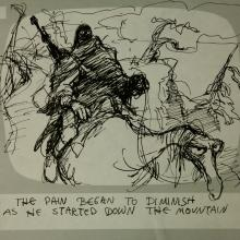 Wizards Production Storyboard Panel - ID:marwizards2880 Ralph Bakshi