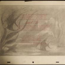 The Cat and the Mermouse Layout Drawing - ID: augmgm022 MGM