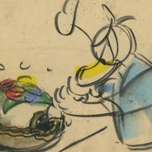 Donald Duck Storyboard Drawing - ID:decdonald4851 Walt Disney