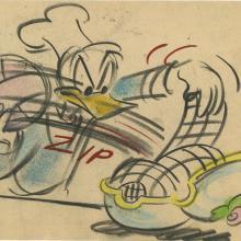 Donald Duck Storyboard Drawing - ID:decdonald4852 Walt Disney