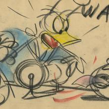 Donald Duck Storyboard Drawing - ID:decdonald5862 Walt Disney