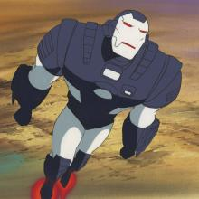 War Machine Cel & Background - ID:decironman6818 Marvel