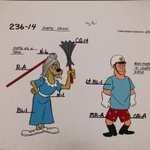Dirty Dawg Model Cel - ID: jandirtydawg2546 Hanna Barbera