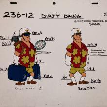 Dirty Dawg Model Cel - ID: jandirtydawg2549 Hanna Barbera