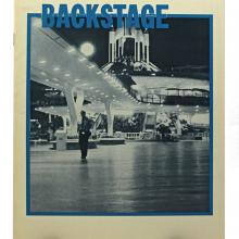 Backstage Magazine Cast Member Publication -  Fall 1971 - ID: jandisneylandPAB035a Disneyana