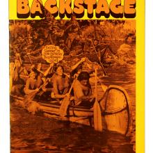Backstage Magazine Cast Member Publication - Summer 1975 - ID: jandisneylandPAB036a Disneyana