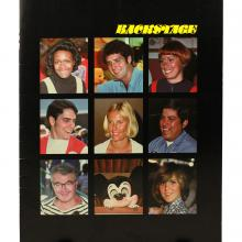 Backstage Magazine Cast Member Publication - Summer 1977 - ID: jandisneylandPAB038a Disneyana