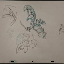 Fantasia 2000 Production Drawing - ID: janfantasia2468 Walt Disney