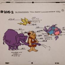 The Flintstones Frankenstones Model Cel - ID: janflintstones2575 Hanna Barbera